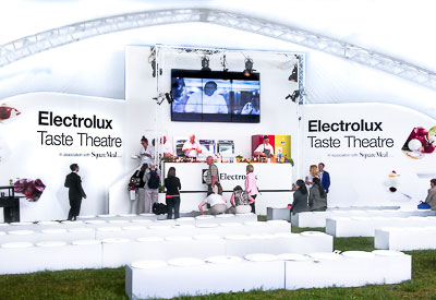 Stage graphics and signs for events and conferences from Perton Signs