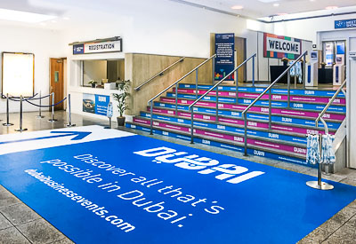Floor Graphics from Perton Signs