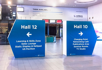 Feature Directional Signs from Perton Signs
