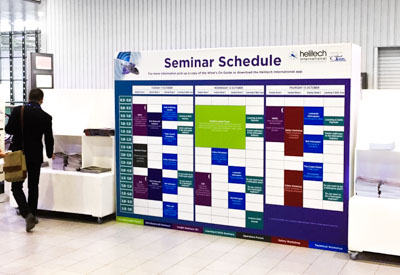 Timetable Graphics and Signs from Perton Signs