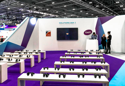 Sponsored Seminar Theatres: Exhibition Graphics and Signs from Perton Signs